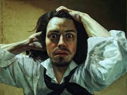 Gustave Courbet, a young man in despair